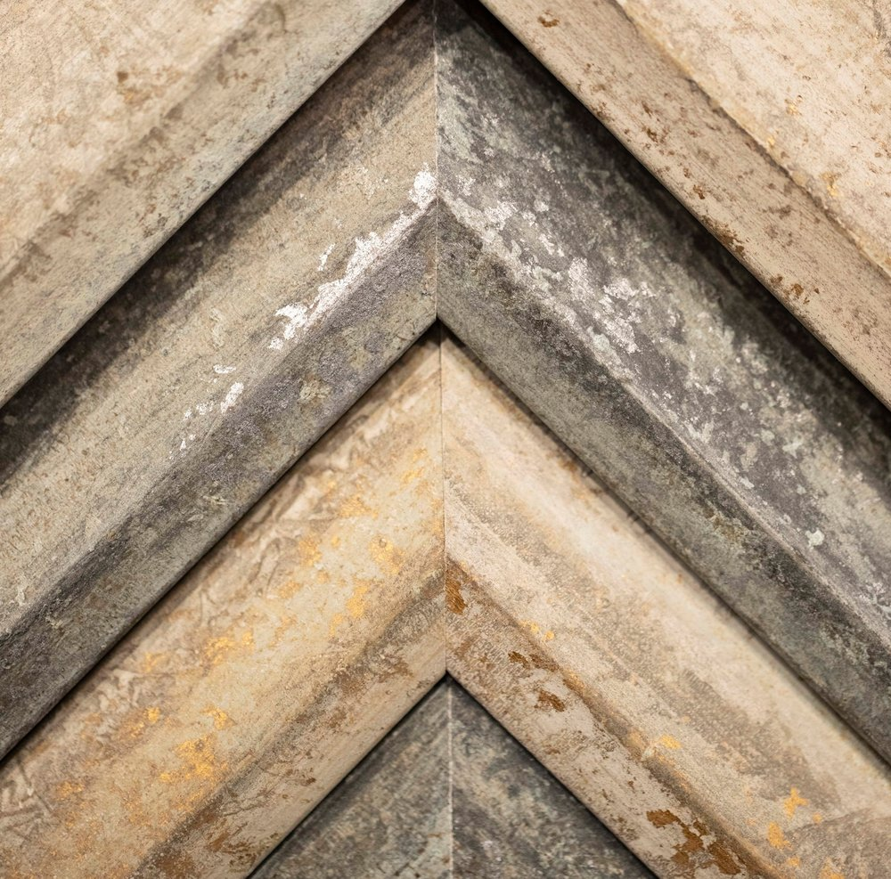 WEATHERED: CONTEMPORARY, METALLIC, NATURAL