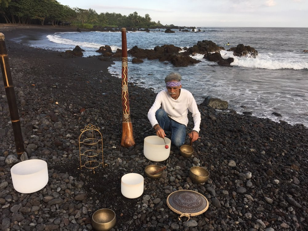 combining Lomi Lomi massage…and live Sound Healing… - Serving Maui since 1994