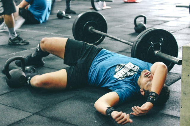 Sleeping at the gym isn't really appropriate, but…