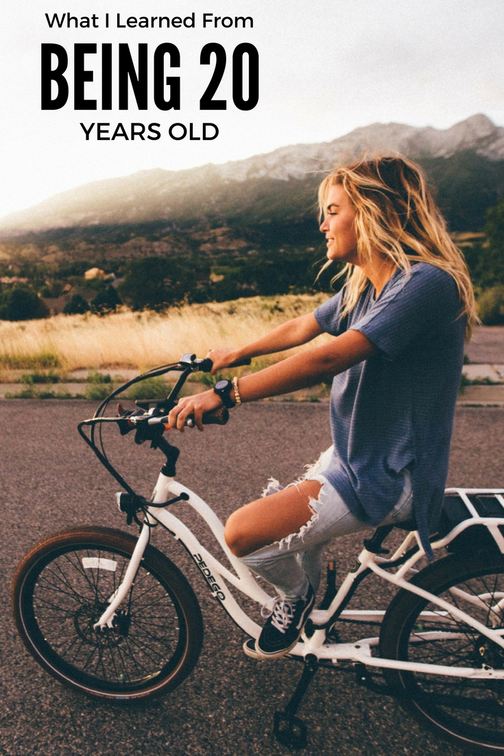 What I learned from being 20