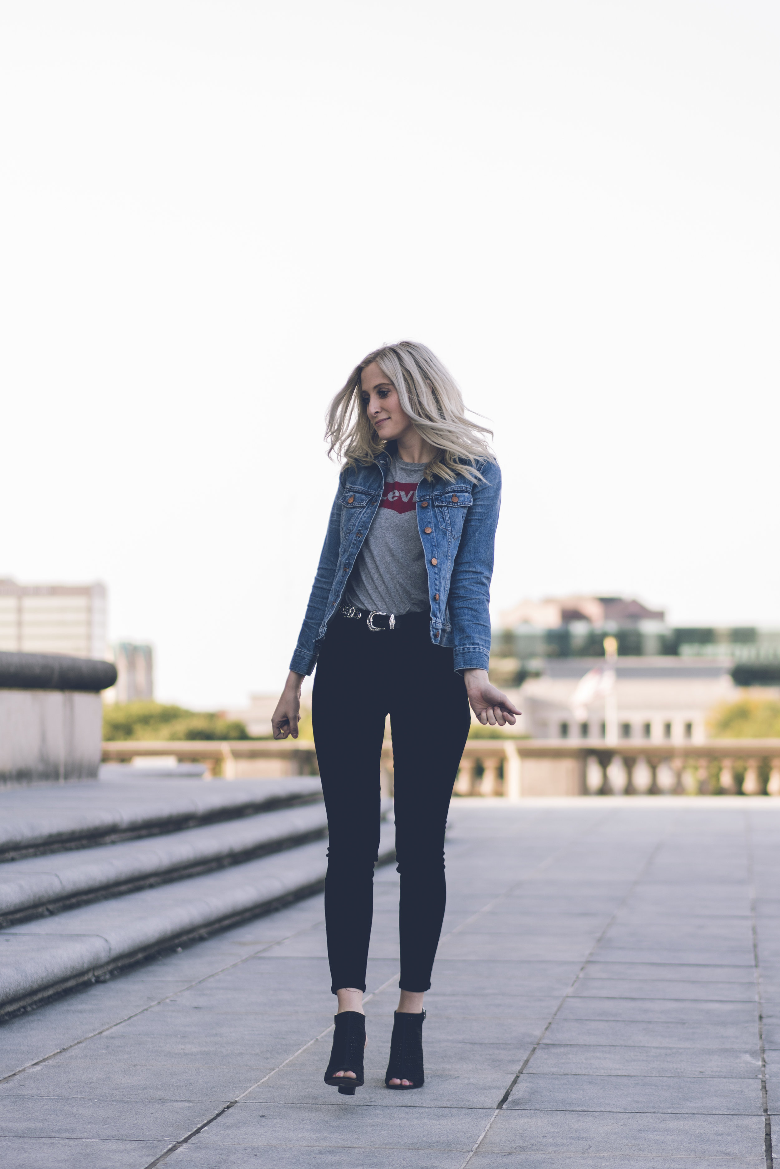 fall denim jacket