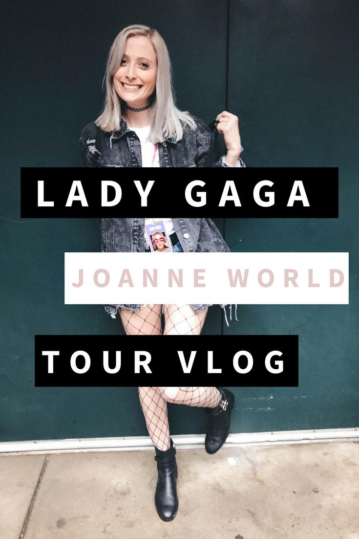 LADY GAGA JOANNE WORLD TOUR VLOG 2017