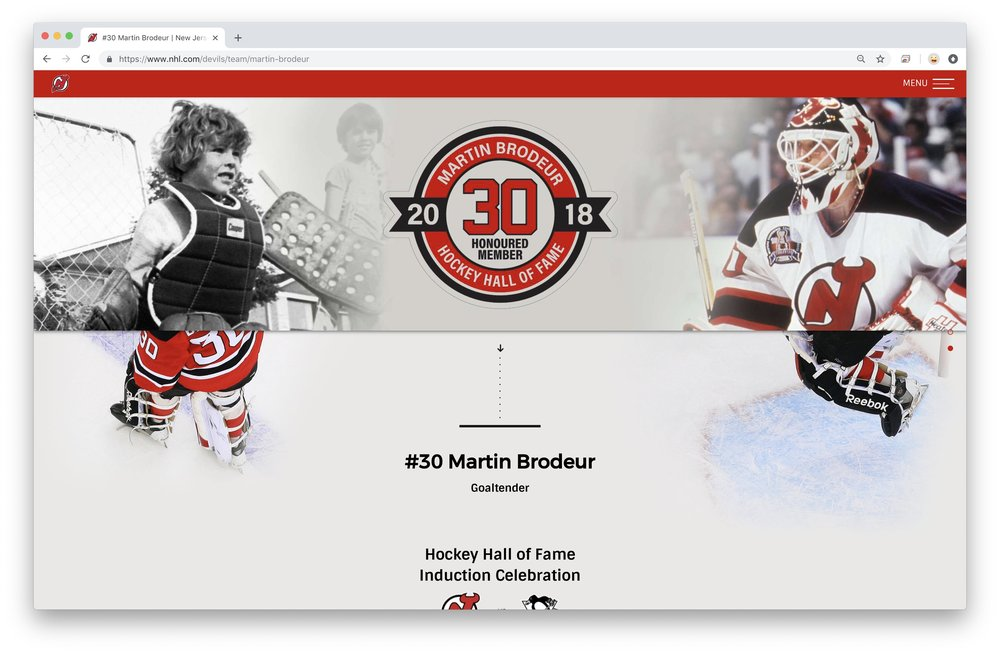 Devils Milestone Night Pages Kevin Mcmorrow