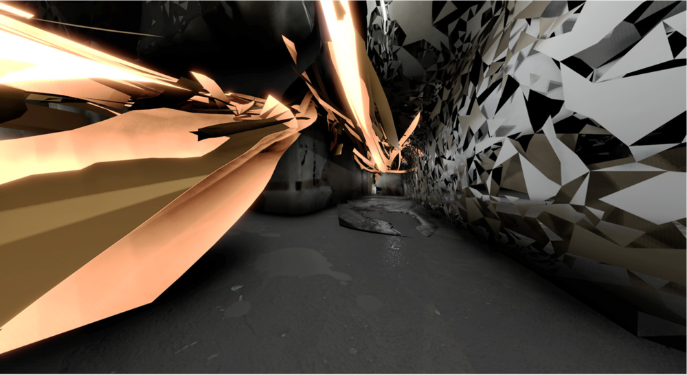 Environment with dynamic lighting