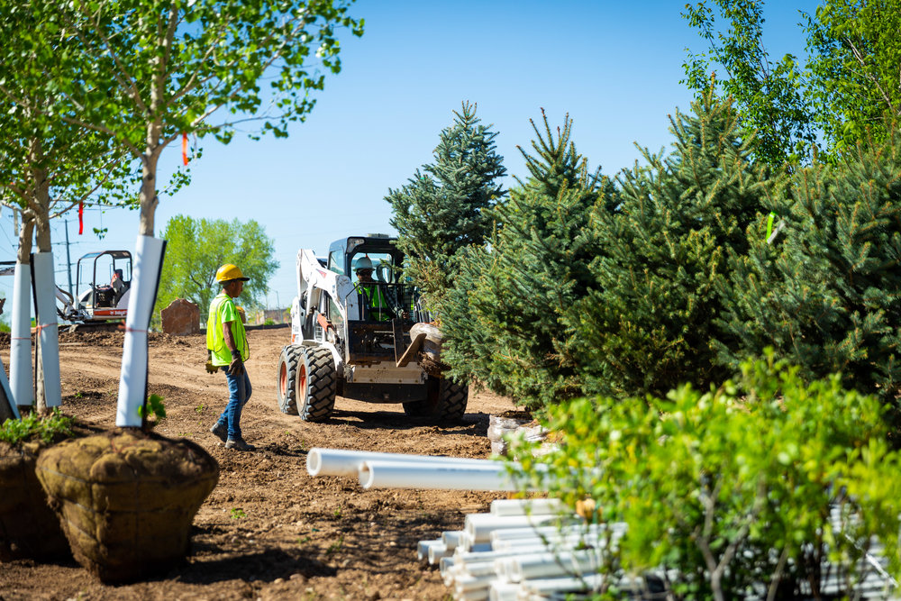 Zak George Landscaping - Colorado - Commercial Landscaping - Design & Install