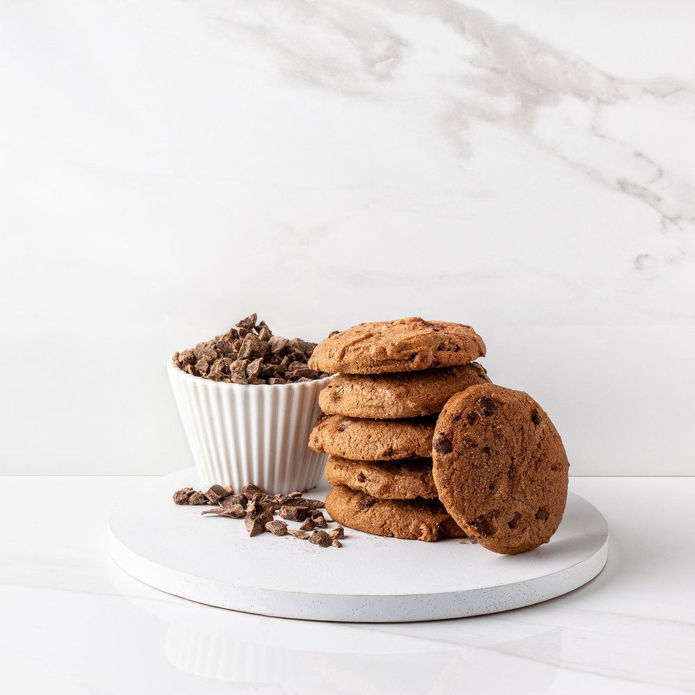 Gluten Free Double Chocolate Biscuits