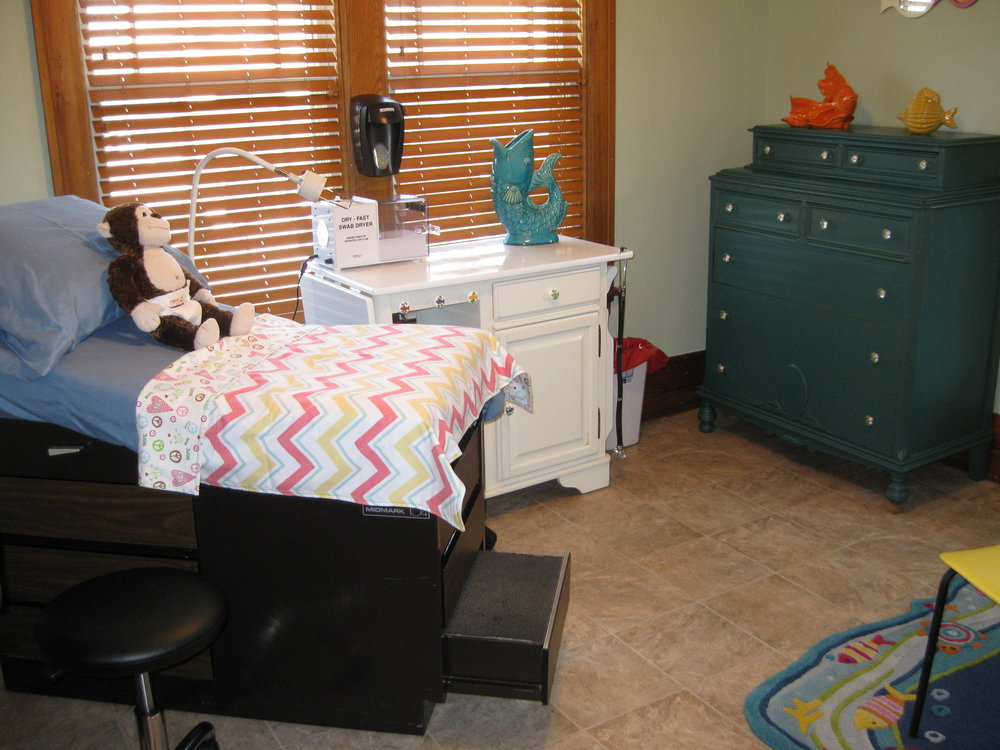 Pediatric SANE - Pediatric Sexual Abuse Examinations are provided to children (birth through 15 years) on site at the advocacy center.The purpose is first to provide reassurance to the child and the parent that the child is alright. Then provide exam and identification of injury and/or collection of evidence.