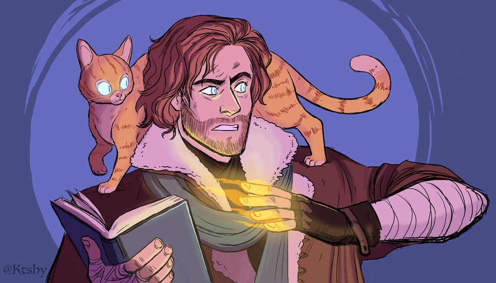 Caleb from Critical Role.