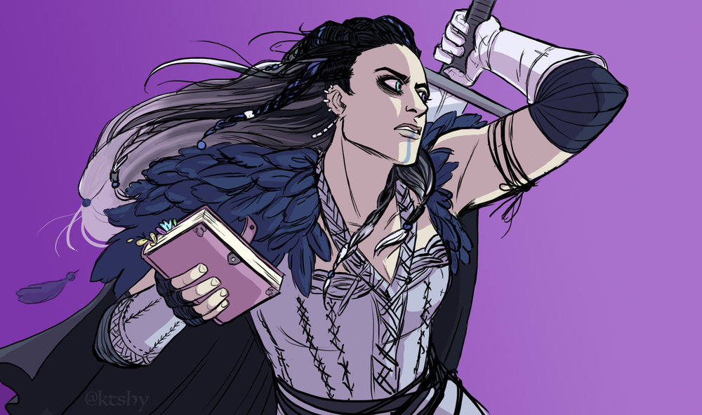 Yasha from Critical Role.