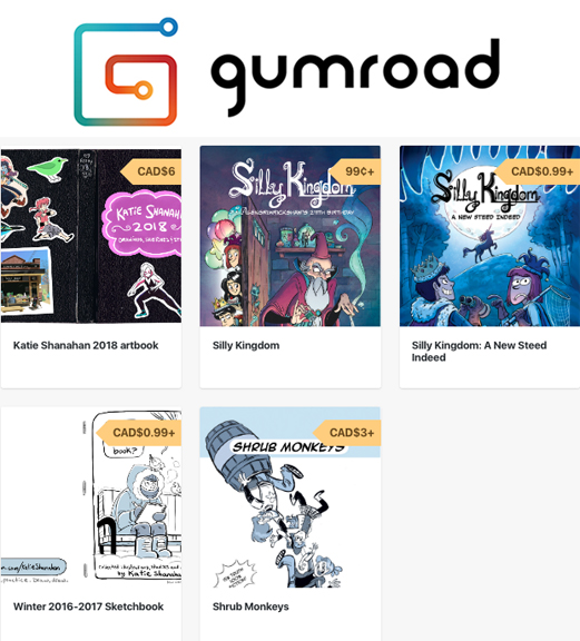 gumroad shop