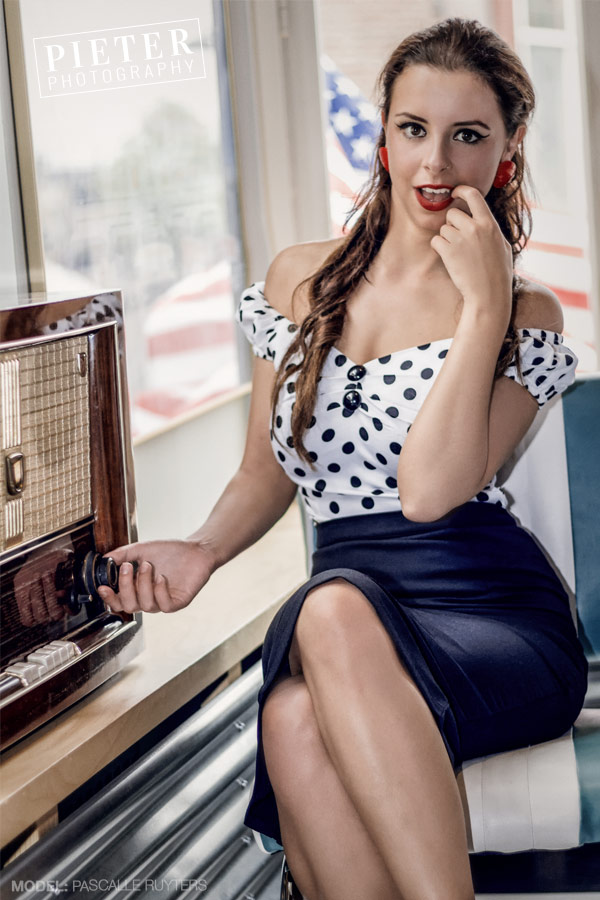 The Pin-up Portrait photo session is an incredible experience