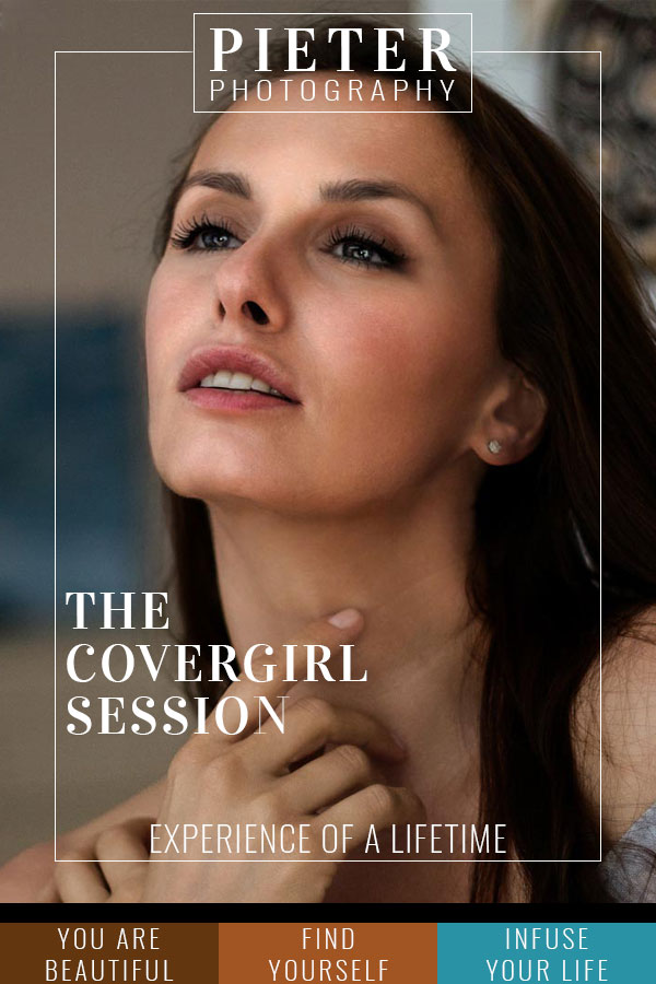 The Covergirl Session at Pieter Photography is a real experience of a lifetime.