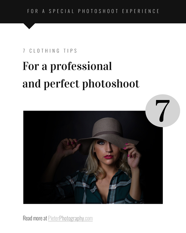Consider these 7 clothing tips for a great portrait photoshoot experience