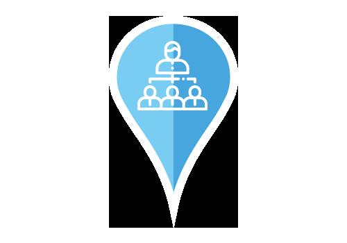 Arbeta med ditt team - Samarbeta med ditt team genom att dela och tilldela uppgifter till varandra. Kom närmare både varandra och era kunder.