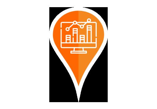 Övervaka din prestation - Se trender över hela ditt företag eller på en enda plats.Med PinMeTos Insights (Insikter) kan du se detaljerad statistik kring er digitala närvaro. Välj från en företagsövergripande sammanfattning av aktivitet ner till detaljerad statiskt för en enda fysisk etablering, eller se vilka av dina platser som presterar bättre respektive sämre.