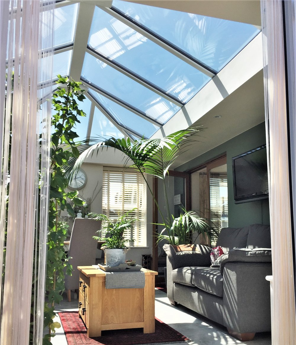 Conservatories and Garden Rooms - • Plenty of conservatory and garden room designs to choose from - to suit your home and budget.• Ultra frames patented ventilated ridge/eaves rooking system.• Polycarbonate or specialist glass roofing options.• Additional design features with choices of decorative eaves infill.• Frames reinforced to conservatory specification.
