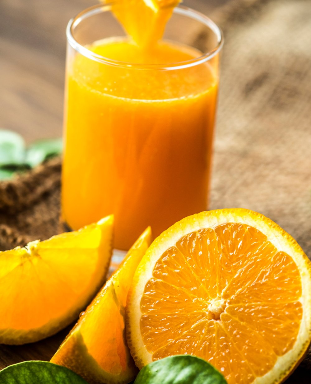 - During my first pregnancy, I had very little morning sickness. In fact, I do not remember having nausea or vomiting, only strong heartburn, where the only solution for me was orange juice and lots of it! I drank almost 1/4 gallon per day especially in the morning, until the 2nd trimester.