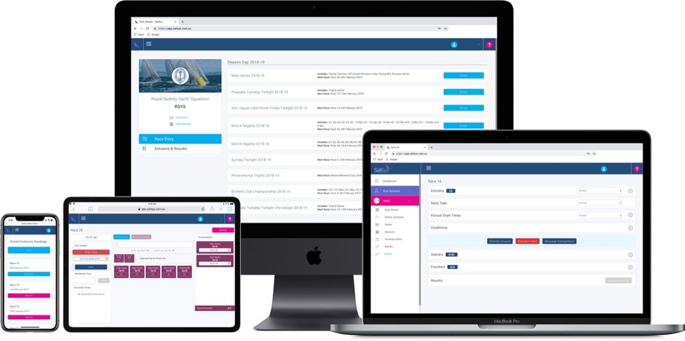 Online & everywhere - Access SailSys from any device, anywhere, with the protection of class leading security