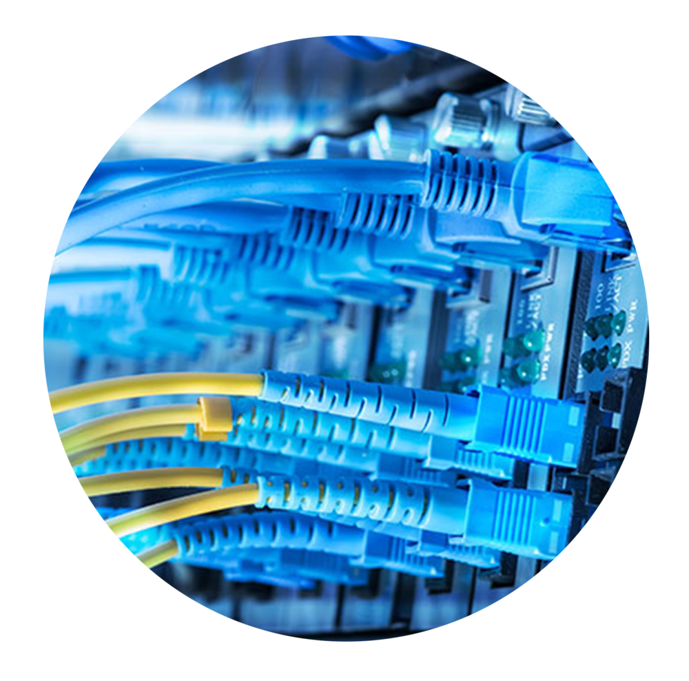 IT Networks - Computer network design, installation and testing to current legislation, up to CAT6A including end to end termination and fibre optic cable installation, termination and test,