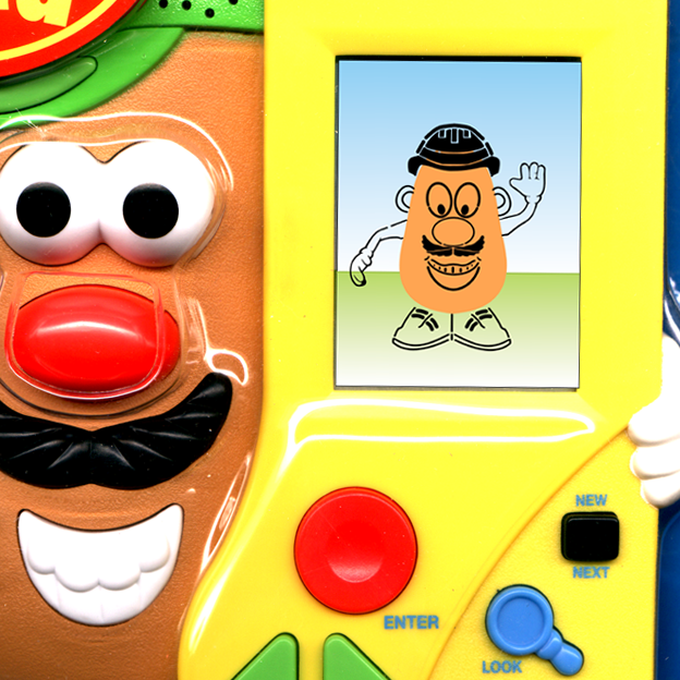 Mr. Potato Head Talking Electronic Hand-held