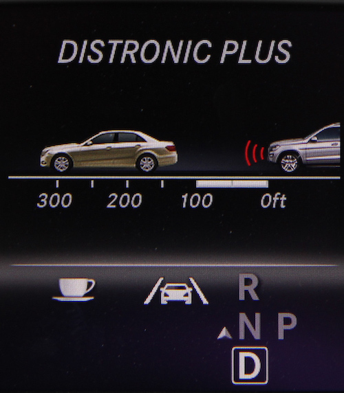 mercedes benz adaptive cruise control
