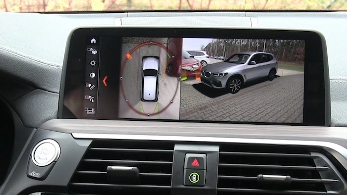bmw x3  360-Degree Camera