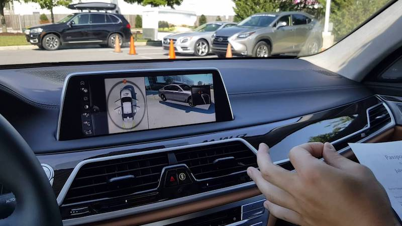 bmw 7 series 360-Degree Camera