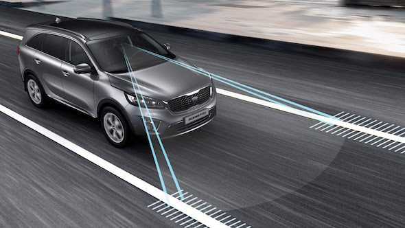 lane departure warning system kia sorento