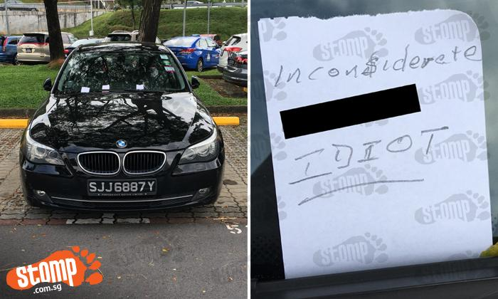 https://stomp.straitstimes.com/singapore/bmw-driver-gets-multiple-angry-notes-and-threats-for-goondu-parking-at-sgh-carpark#&gid=1&pid=1
