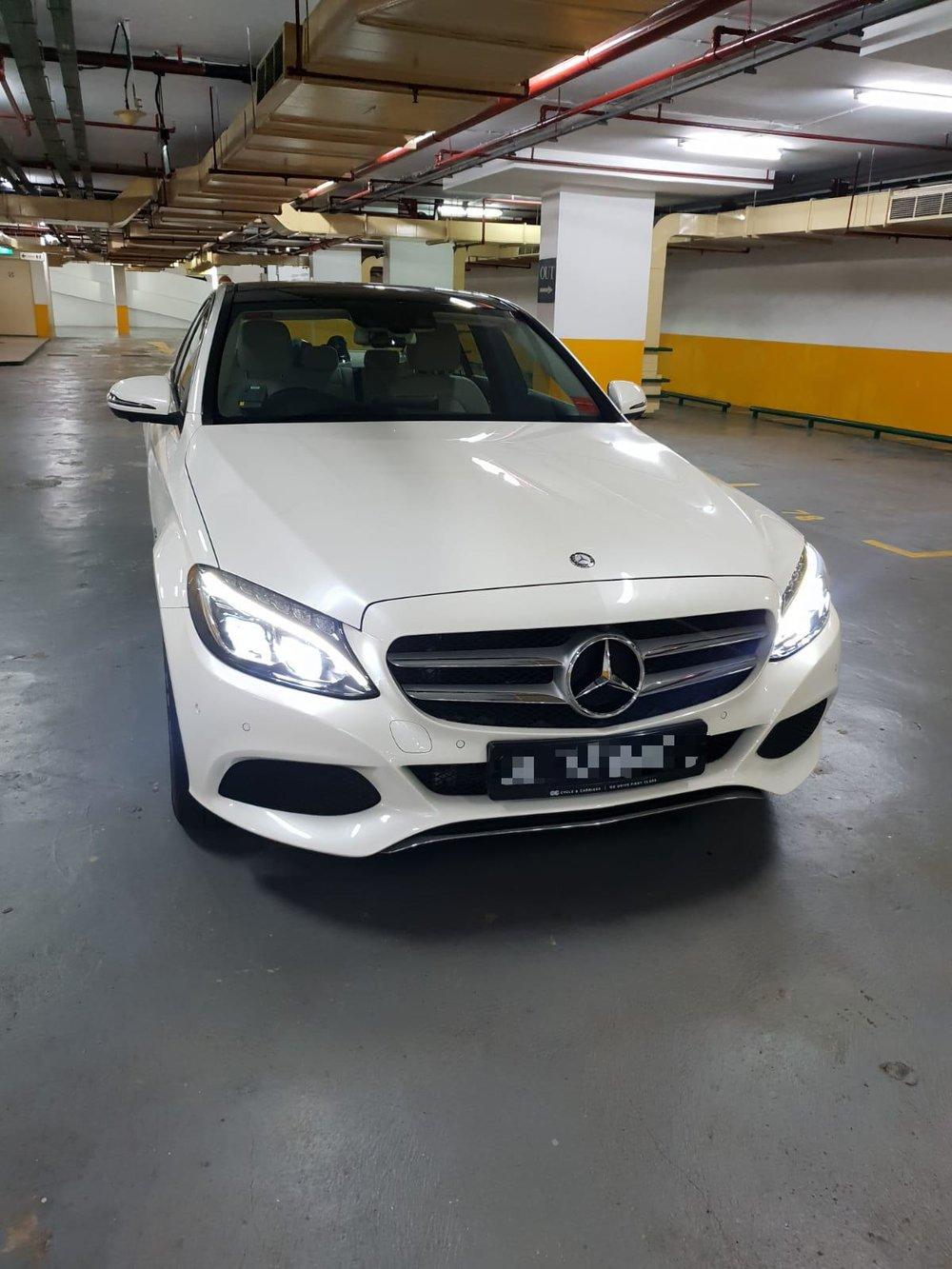 Mercedes C300 W205