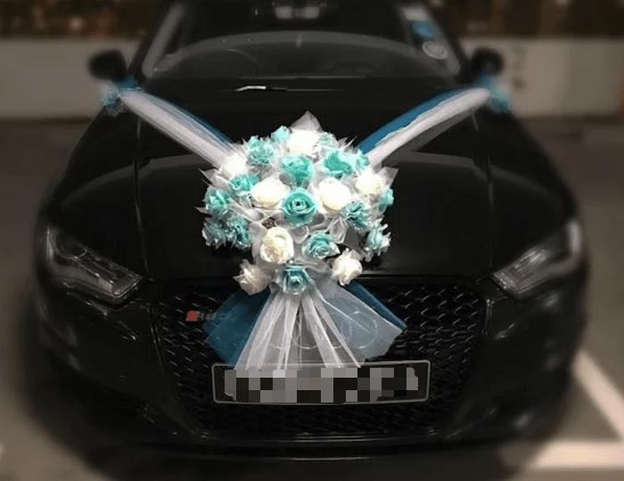 Audi A4 wedding car