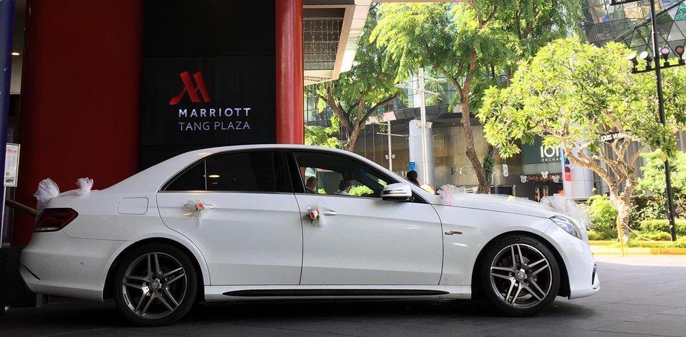 Mercedes Benz E-Class Wedding Car