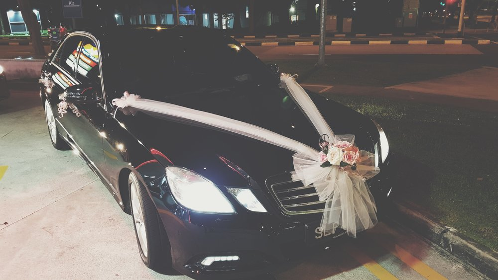 Mercedes Benz E Class Wedding Car