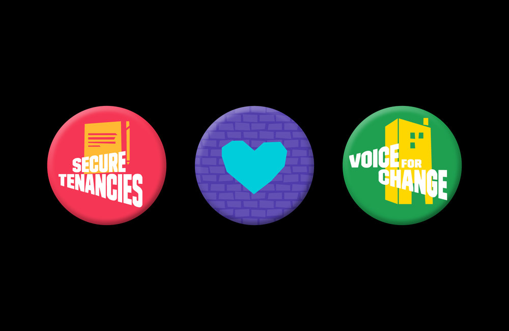 NicholasSmart_LondonRentersUnion_Identity_Merchandise_Badges.jpg