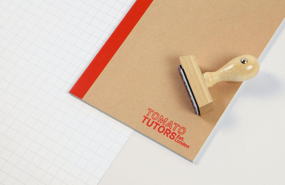 NicholasSmart_TomatoTutors_Identity_Mechandise_Notebook&Stamp_Warm.jpg