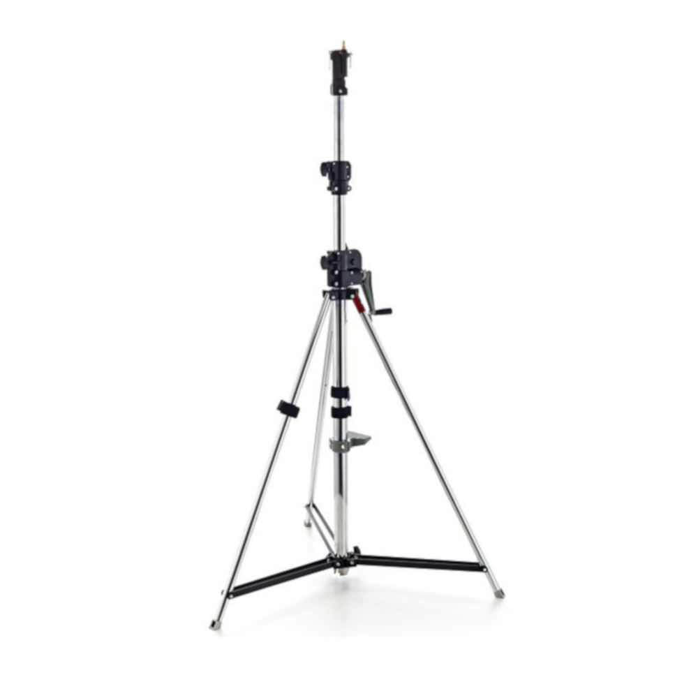 Manfrotto wind up in sliver.