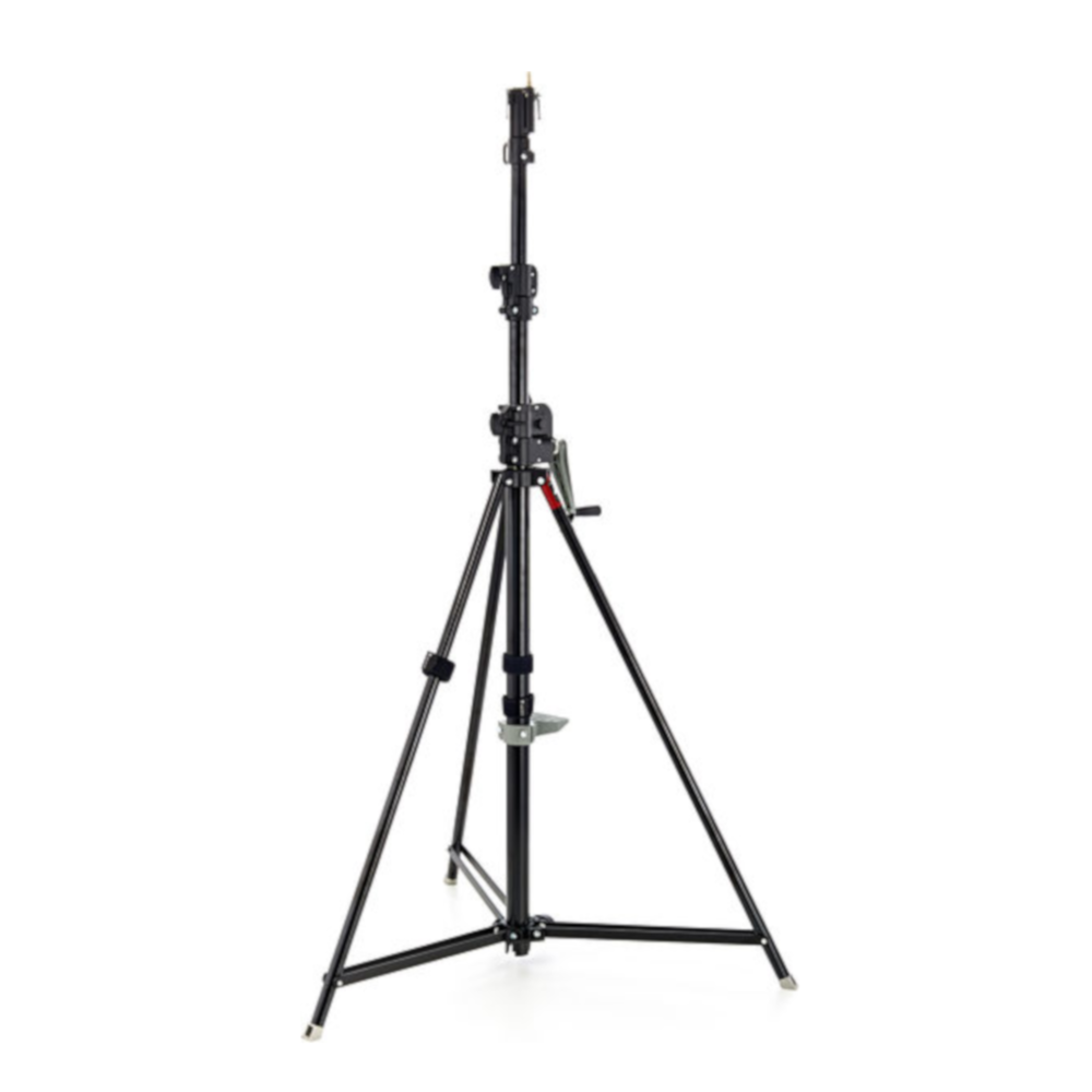 Manfrotto wind up in black.