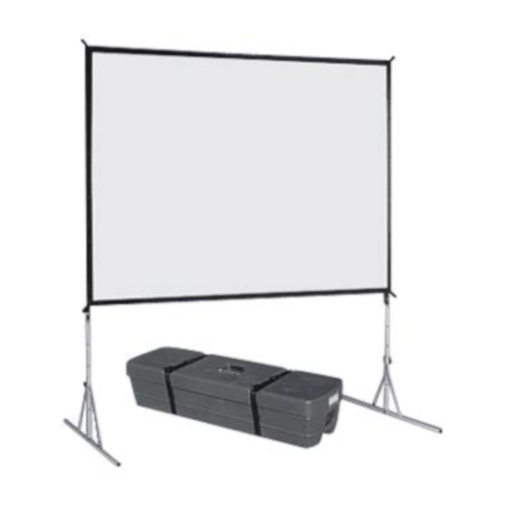 8 x 6 Fastfold Screen for hire.