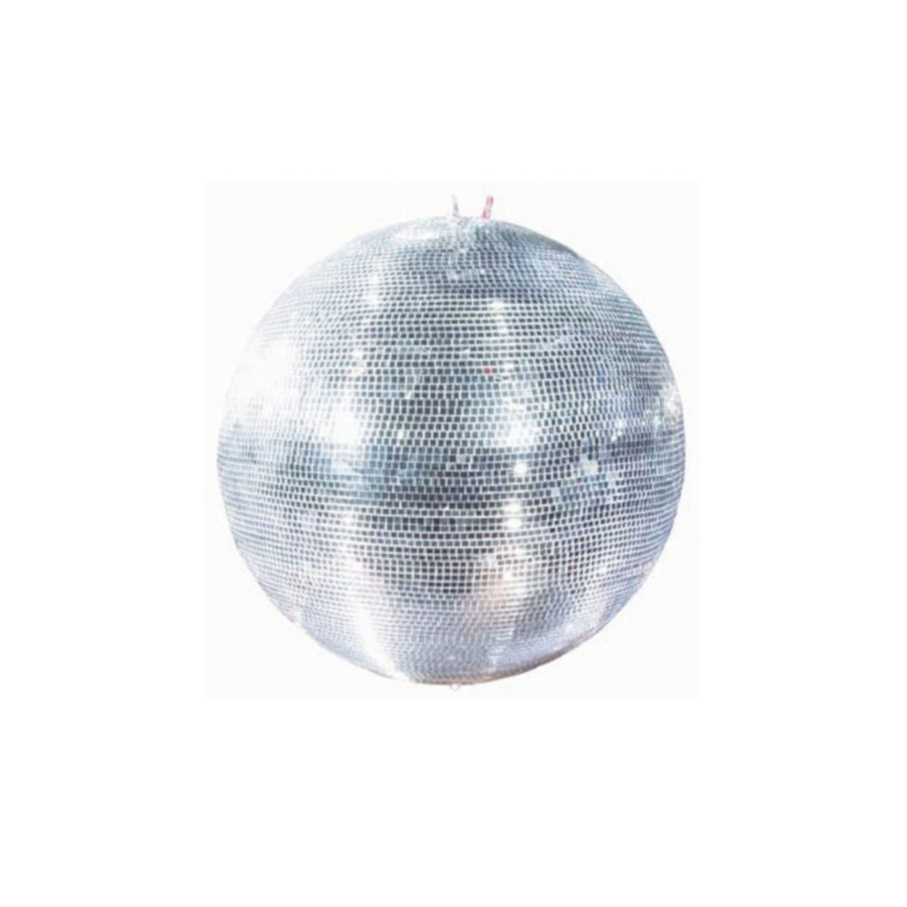 40cm Mirrorball w/Rotator for hire.