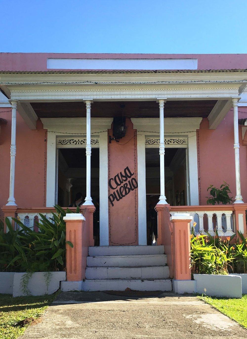 Casa Pueblo Home in Adjuntas - By Garrett Burnham