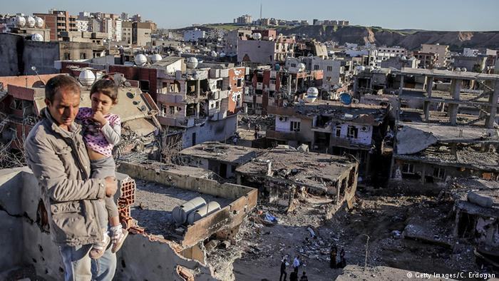 City of Cizre following Turkish onslaught in 2015