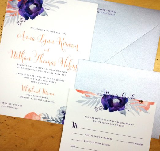 Wedding Stationery by Poeme