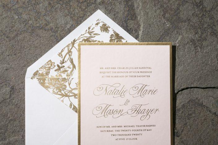 Avignon with Gold Foil Liner