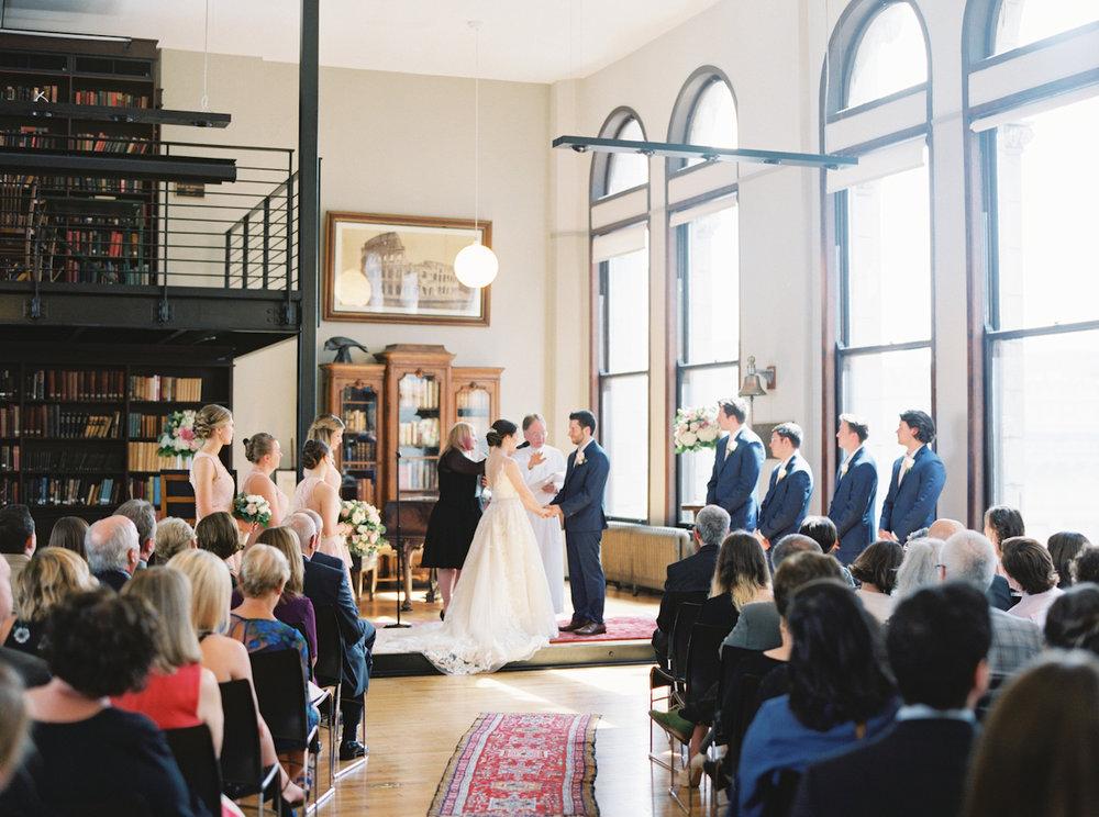 Mercantile Library interfaith wedding ceremony