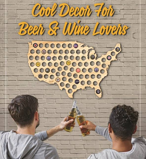 Decor for Beer and Wine Lovers