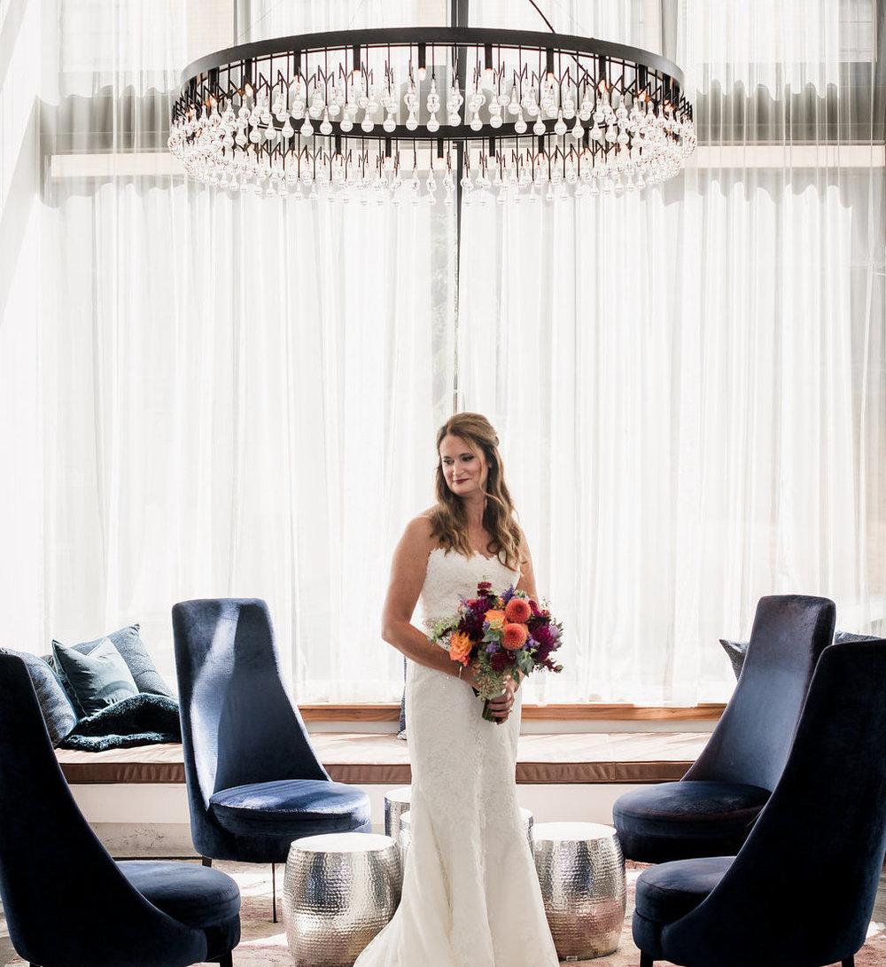 Hotel Covington wedding celebration. Photo Burning Chair Photo