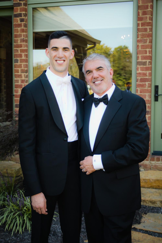 Cincinnati wedding day