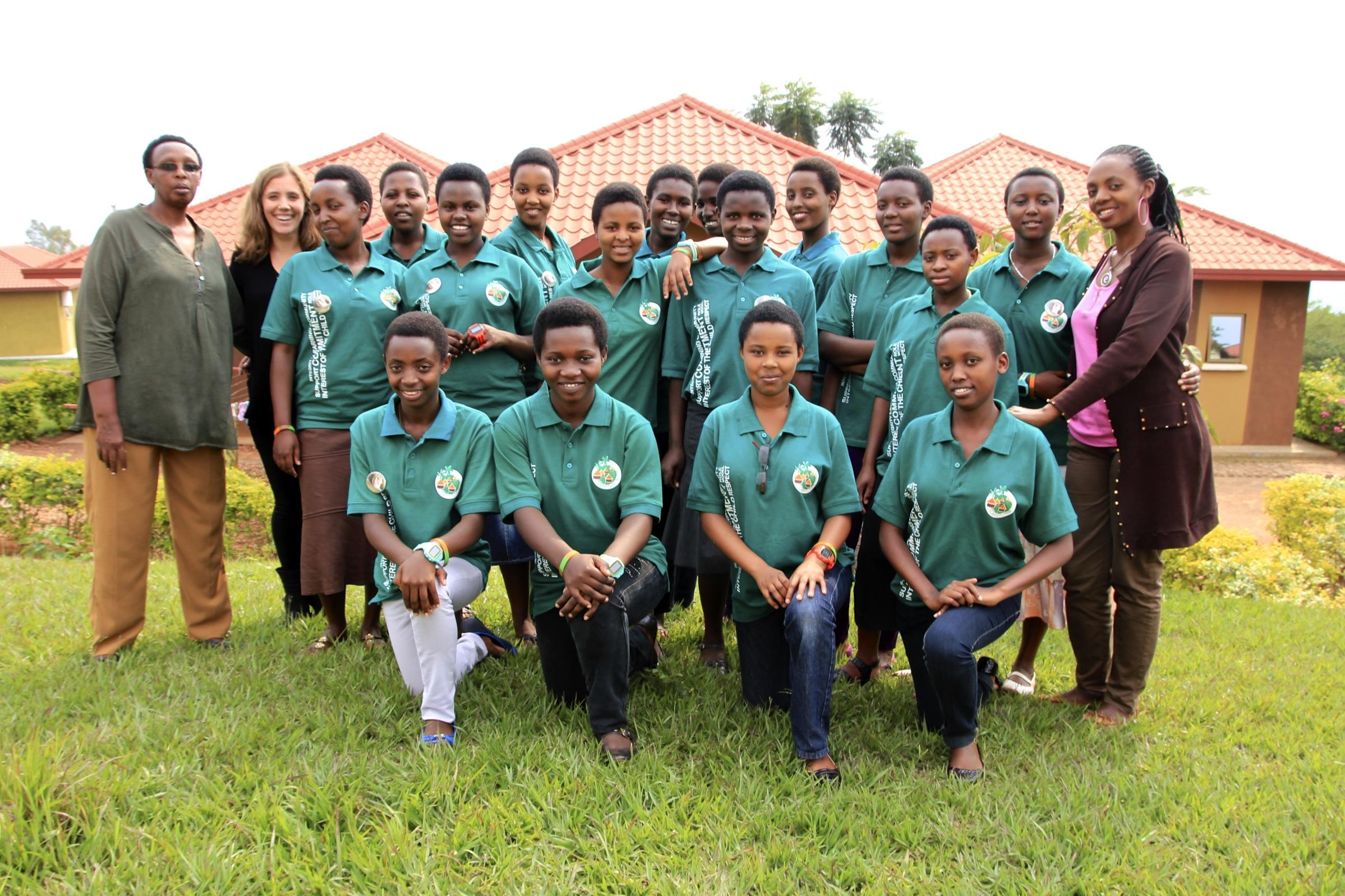 Aloysie Inyumba Family