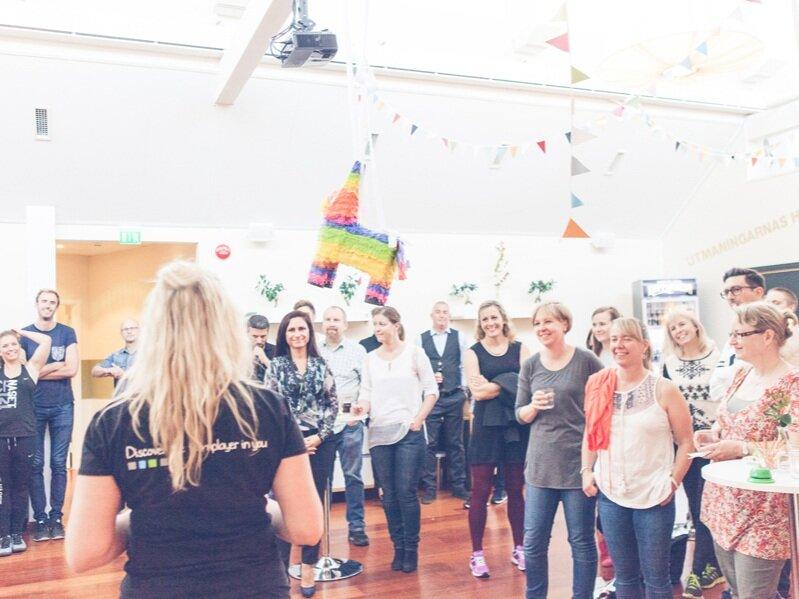 Utmaningarnas Hus | Kick off och företagsfest