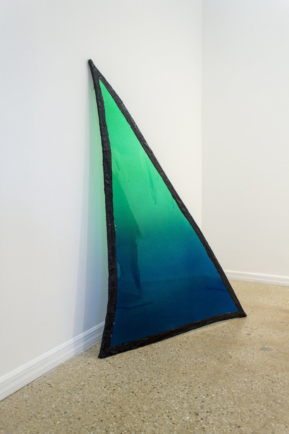 Fabienne Lasserre,  Untitled Green , 2017